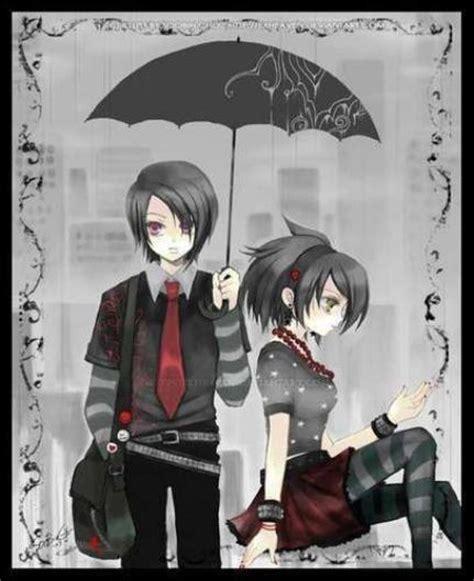 imagenes anime emo punk emo anime girl and boy sasuke kun