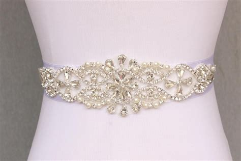 beautiful sparkly handmade belt rhinestone beaded