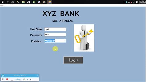 v r bank güstrow banking system software using c