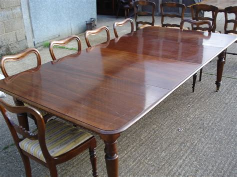 Dining Table To Seat 10 Antique Furniture Warehouse Antique Dining Table 8ft William Iv Mahogany Extending Dining