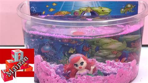 Permainan Magic Sand Pasir Kinetik Dinosaurs aqua sand mermaid island aqua pasir magic pasir yang