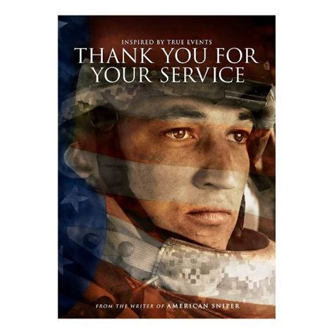 your to be a service thank you for your service dvd target