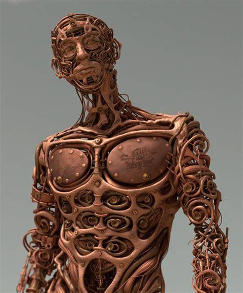 copper pipe art levi s copper beth erik i creative direction