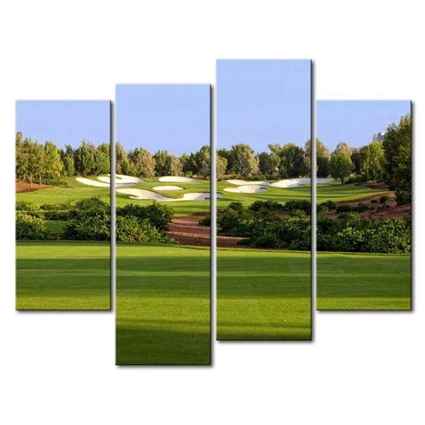 golf home decor golf art prints golf wall decor set of 6 compare prices on golf art paintings online shopping buy