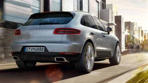 porsche macan four cylinder entry model revealed