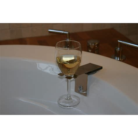 bathtub wine bosign suction bath wine glass holder bath accessory
