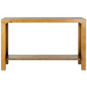 Light Oak Console Table Shop Safavieh American Home Light Oak Pine Rectangular Console And Sofa Table At Lowes