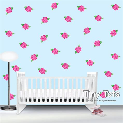shabby chic wall stickers wall decals stickers shabby chic nursery wall