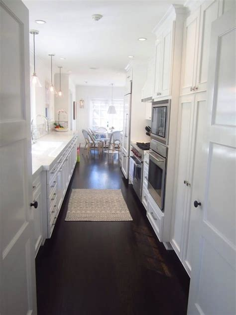 25 best ideas about galley kitchens on pinterest galley brilliant luxury white galley kitchen kitchens at find