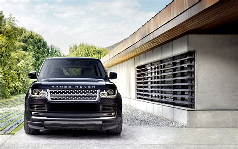 black range rover wallpaper hd range rover wallpapers range rover background images