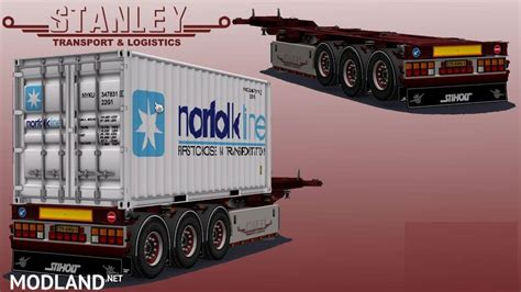 trailer pack  stanley  templates mod  ets