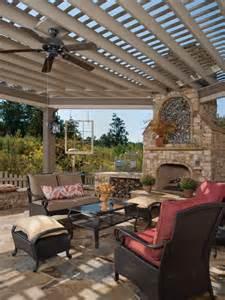 Pergola With Outdoor Ceiling Fan by Ceiling Fan Design Ideas Hgtv