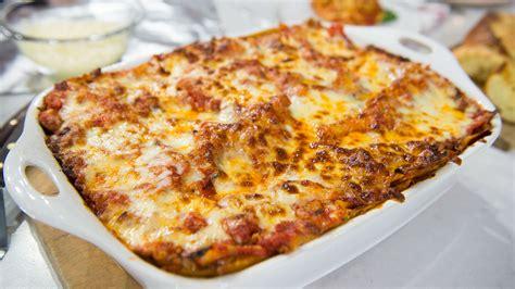 best 4 healthy dinner recipes times news uk al roker s vegetable lasagna today com