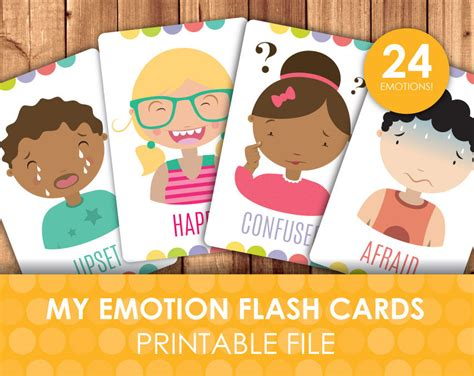 printable emotion faces card printable emotions and expressions faces flashcards how do