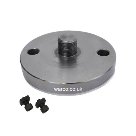 rotary table chuck adapter plate backplate for 2 75 quot 70mm rotary tables unimat thread