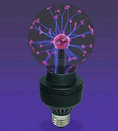 Plasma Light Bulb by Plasma Light Bulb The Green