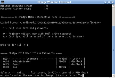 reset magic online password reset windows password with gparted magic password recovery