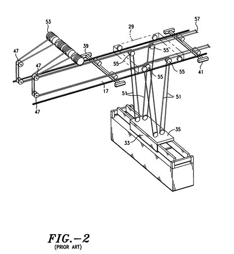 terex cranes wire rope reeving patent us7073673 wire rope reeving support system for cargo container handling gantry cranes