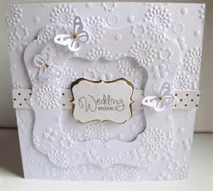 going buggy embossed wedding card