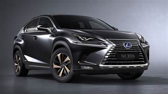 lexus unveils refreshed 2018 nx300 and nx300h at the