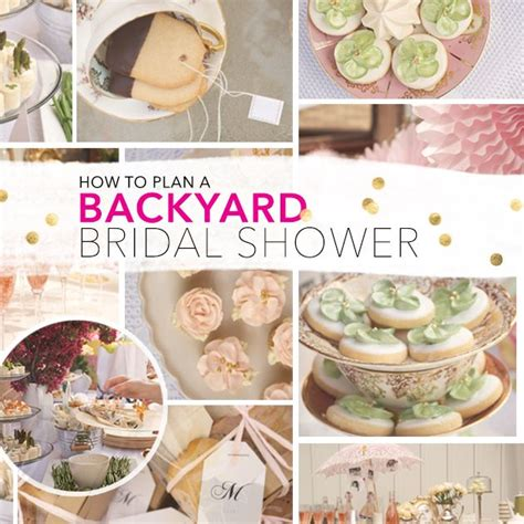 25 best ideas about outdoor bridal showers on