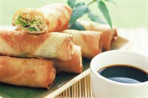 Vegetarian spring roll recipe vegetable spring rolls