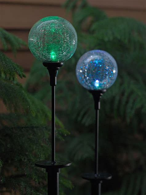 Garden Solar Lights Solar Northern Lights Sphere Garden Solar Sphere Lights