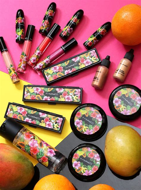 b fruity the mac fruity collection is a of fruit for