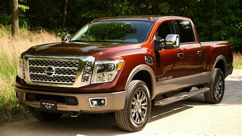 nissan truck diesel nissan and cummins talk about how good the 2016 titan xd s