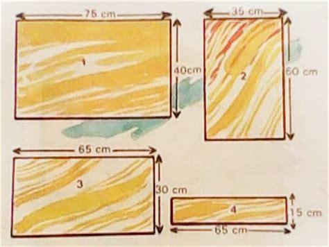 Multipleks 2 Cm mebel cara membuat meja belajar