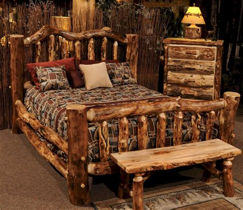 kings home decor furniture sofas rugs bedding home decor furniture rustic tufted bed and nightstand plus bedroom