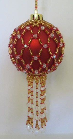 31 best images about beaded christmas bauble patterns on