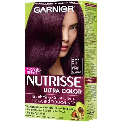 nutrisse colors garnier hair dye color chart hairstly org