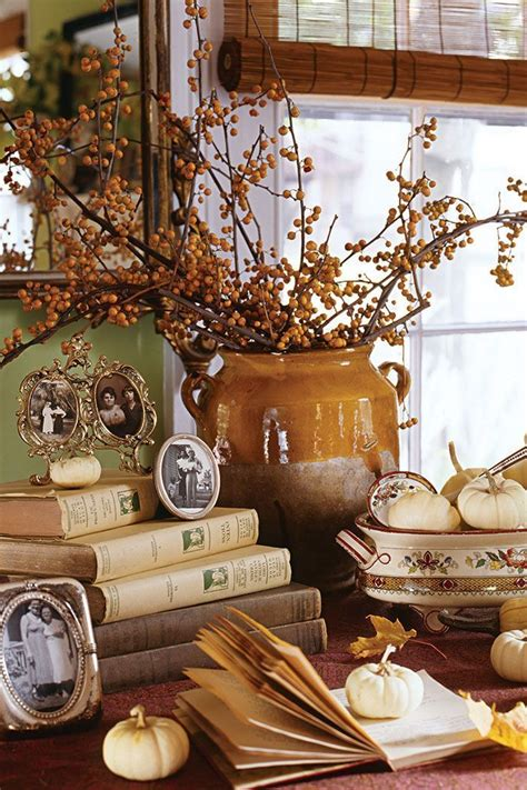 home decorating ideas vintage autumn inspired home decor
