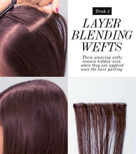 layered hair extensions pictures how to hide layers using layer blending weft hair