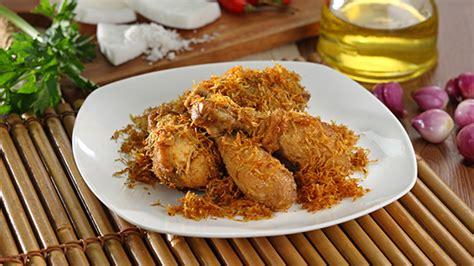 Minyak Kelapa Masak ayam goreng kelapa