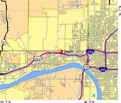 tulsa zip code map 74127 zip code tulsa oklahoma profile homes apartments schools population income