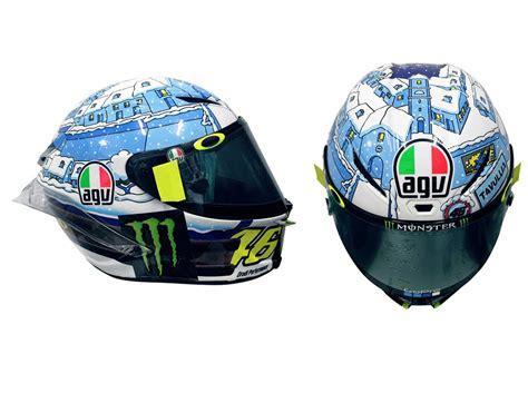 Helm Agv New inilah helmet agv pista gp r winter testyang di pakai saat test sepang motoblast