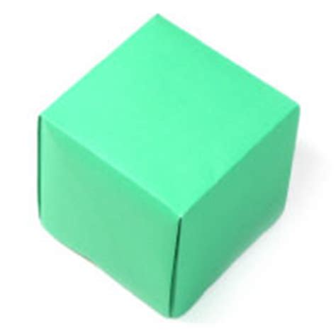 How To Make A Paper Cube Box - how to make origami box