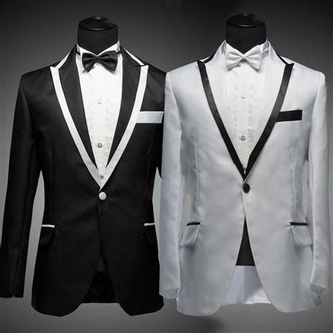 19642 White Black Suit black and white wedding tux www pixshark images galleries with a bite