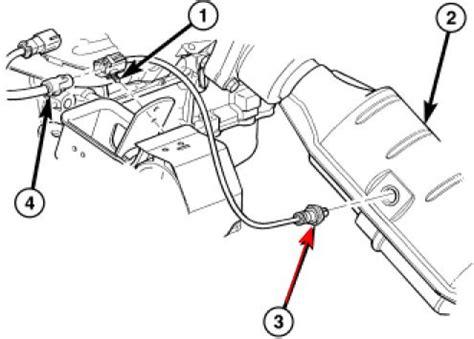 2007 dodge grand caravan i get a diagram of how many 02 sensors are
