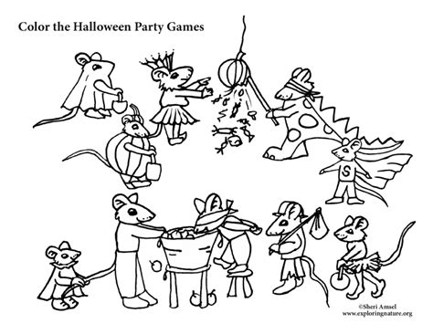 halloween rat coloring pages mouse halloween party games coloring pages