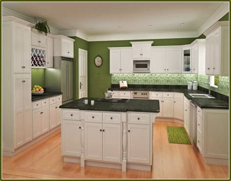 pictures of white shaker style kitchen cabinets home