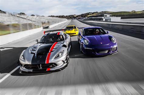 porsche 911 viper 2016 chevrolet corvette z06 vs dodge viper acr vs