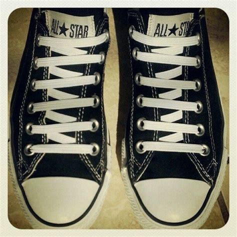 how to bar lace high top converse 17 best images about cool ways to tie your laces on