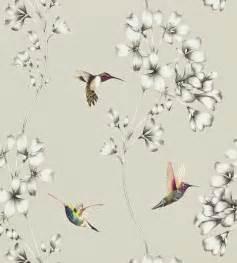 Light Grey Curtains Uk Amazilia Wallpaper By Harlequin Jane Clayton