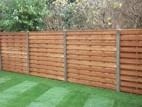 wooden fence panels horizontal www imgkid the - Horizontal Wood Fence