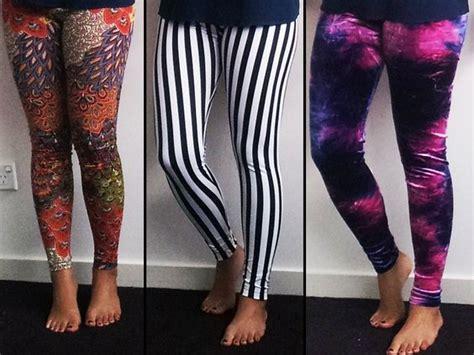 crazy patterned leggings 10 diy leggings tutorials how to emebellish and make