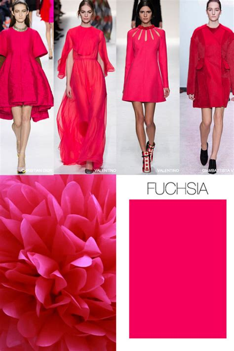 fashion colors for 2016 pink is the key color trend for fall winter 2015 2016