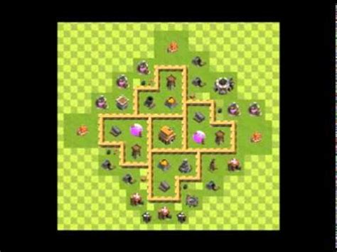 layout vila nivel 5 clash of clans layout centro de vila nivel 5 guerras e